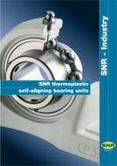SNR thermoplastic self-aligning bearing units