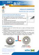 Damper pulleys: Inspection methods