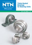 Triple-Sealed Bearings for Bearing Units