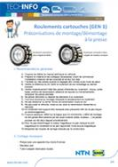 Cartridge bearings GEN: Assembly/disassembly